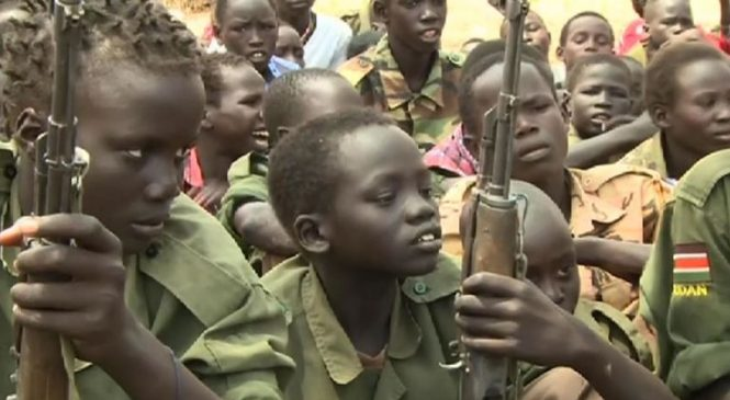 Face-to-face with child soldiers told to rape and kill in South Sudan