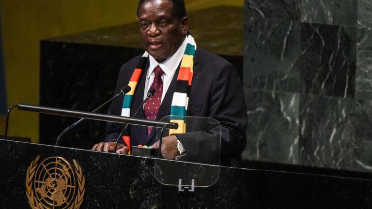Mr Mnangagwa was an aide to Robert Mugabe