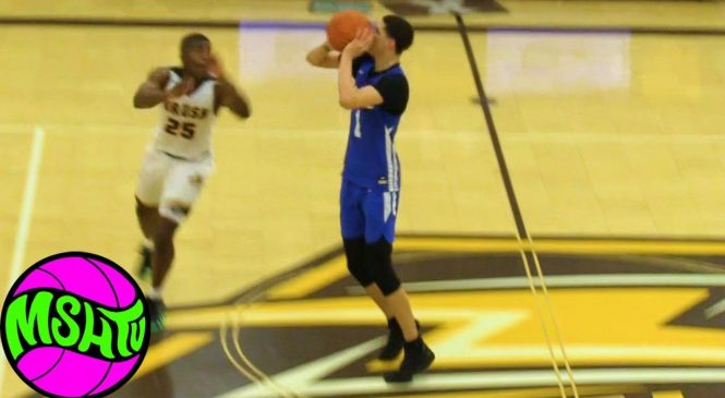 Watch: LaMelo Ball drains half-court shot in front of Michigan State's Tom Izzo