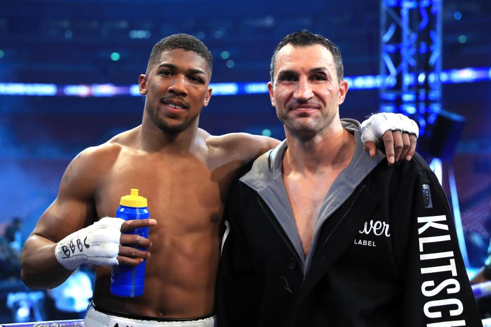 Wladimir Klitschko retired after losing his Wembley war with Anthony Joshua