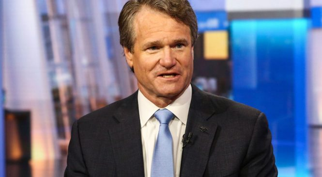 Bank of America boosts CEO Brian Moynihan's pay 15% to $26.5 million after record profit last year