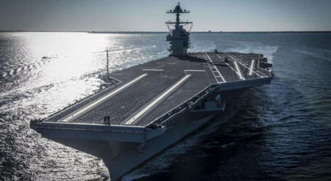 Ford-class Ship Self Defense System undergoes first live test
