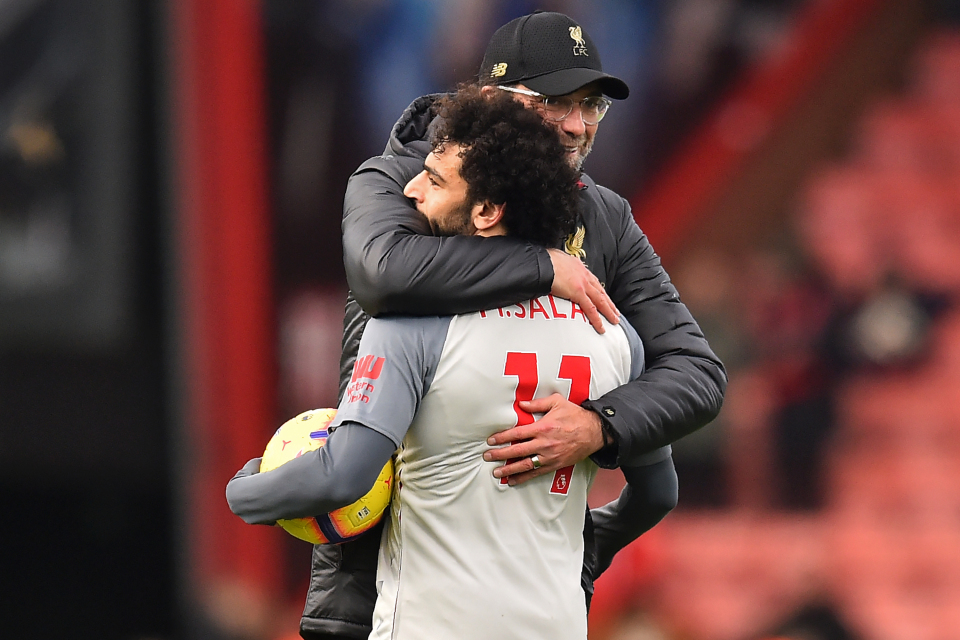 Jurgen Klopp admits Mohamed Salah needs help from team mates as forward's poor record against top six continues