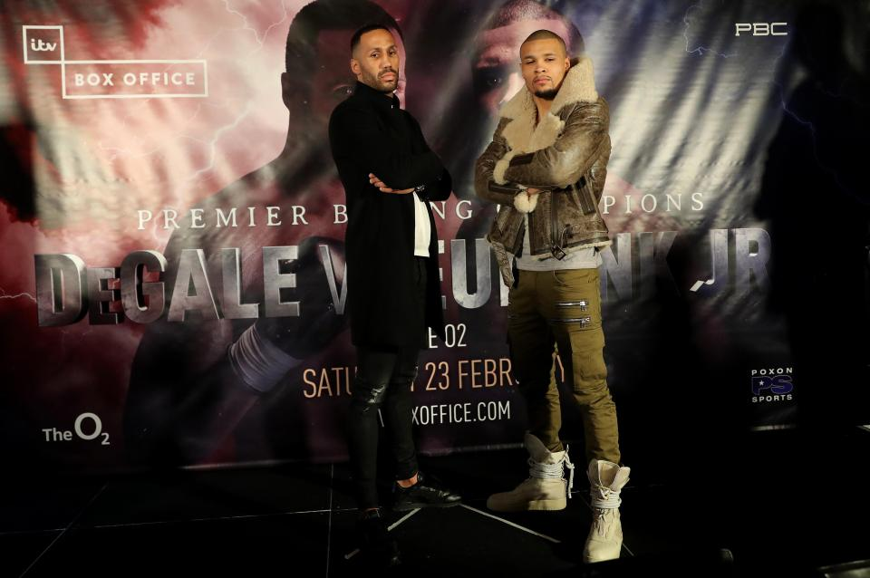 James DeGale vs Chris Eubank Jr: UK date, start time, full undercard