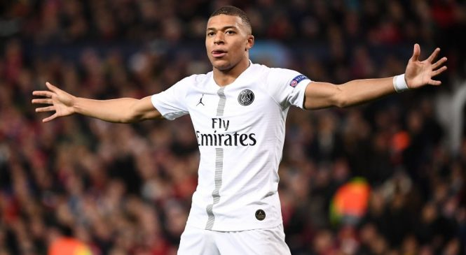 Manchester United 0-2 Paris Saint-Germain: Presnel Kimpembe and Kylian Mbappe give Red Devils mountain to climb in Champions League last 16