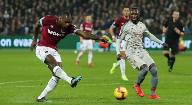 West Ham United 1-1 Liverpool: Jurgen Klopp's men miss the chance to extend their lead over Manchester City at the top of the Premier League table to five points