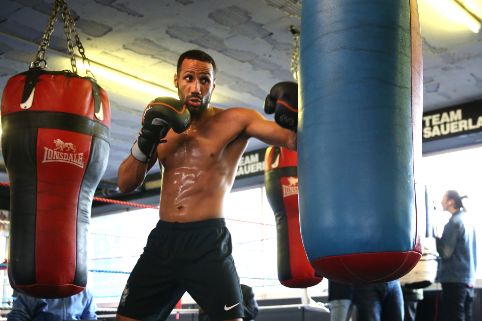 James DeGale takes on Chris Eubank Jnr next weekend