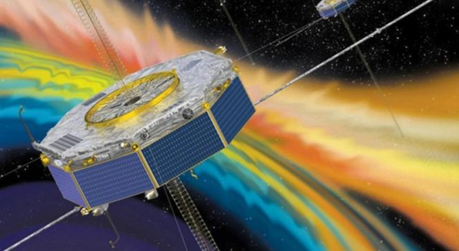 Scientists use spacecraft's measurements to study solar wind heating