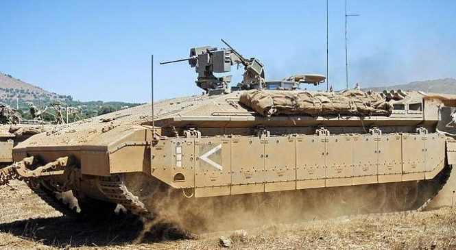 State Dept. approves possible engine sale for Israeli armored vehicles