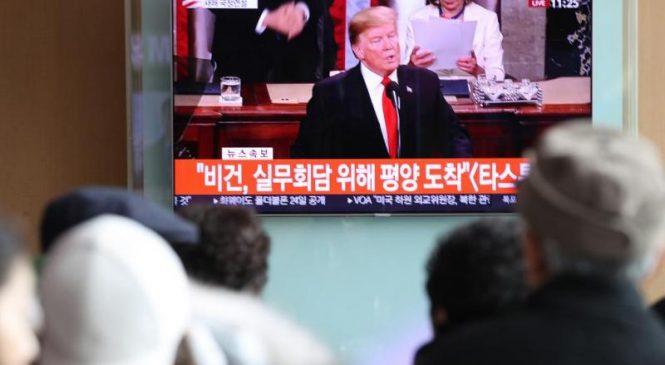 Trump: U.S.-N. Korea summit to be held in Vietnam Feb. 27-28