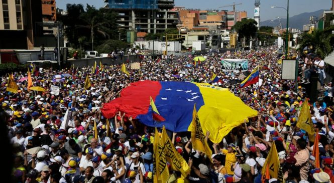 Venezuela's Guaido urges military defections amid protests