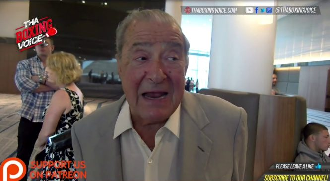 Bob Arum planning offer to Errol Spence for Terence Crawford fight in 2019
