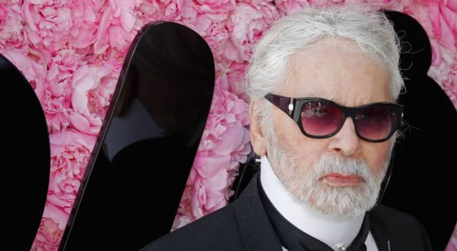 Fashion icon and Chanel boss Karl Lagerfeld dies
