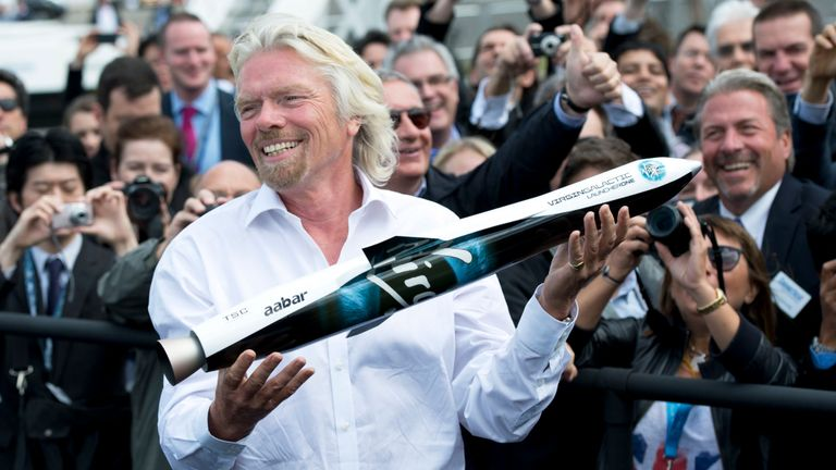 The new funding would value Virgin Galactic and Virgin Orbit at more than $ 2bn