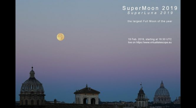 Watch February's super snow moon, the brightest full moon of the year
