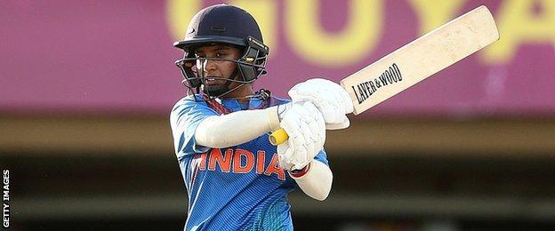 India v England: Kate Cross stars as England claim thrilling win