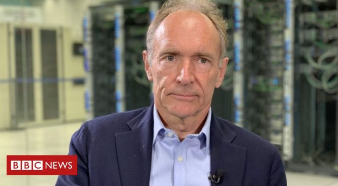 Tim Berners-Lee: 'Stop web's downward plunge to dysfunctional future'