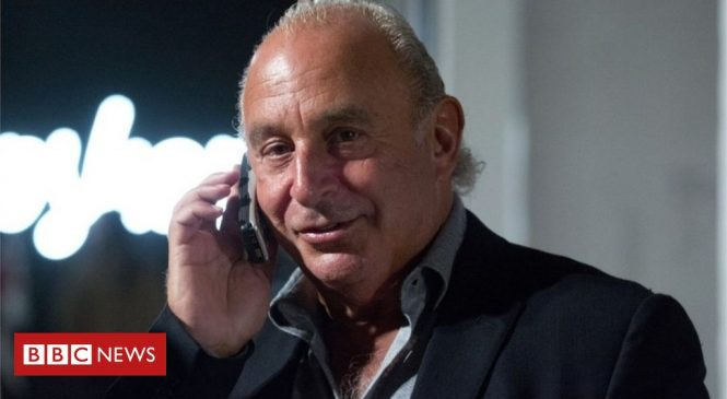 Philip Green's Topshop retail empire in restructuring move