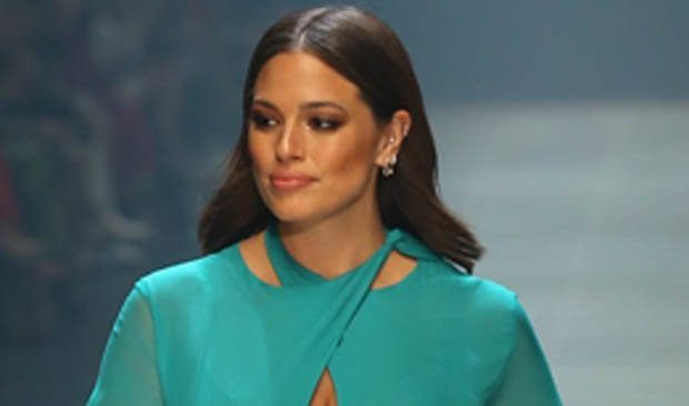 lash-ionista! Ashley Graham's KNICKERS steal the show in shocking catwalk blunder