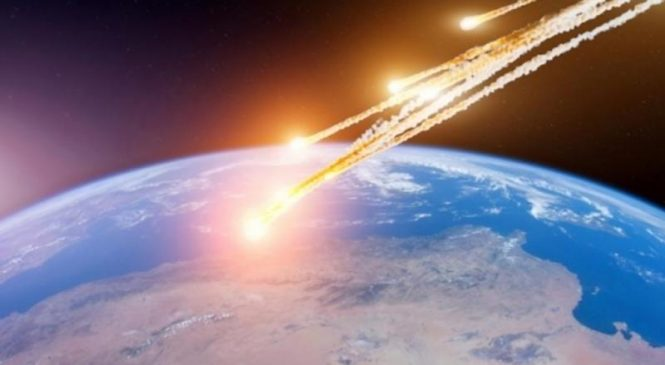 Ancient comet impact triggered fires, climate change, megafauna extinctions