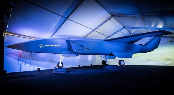 Boeing unveils fighter jet-sized drone designed for Australia