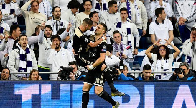 Watch Dusan Tadic tear Real Madrid apart as Ajax stun Champions League holders