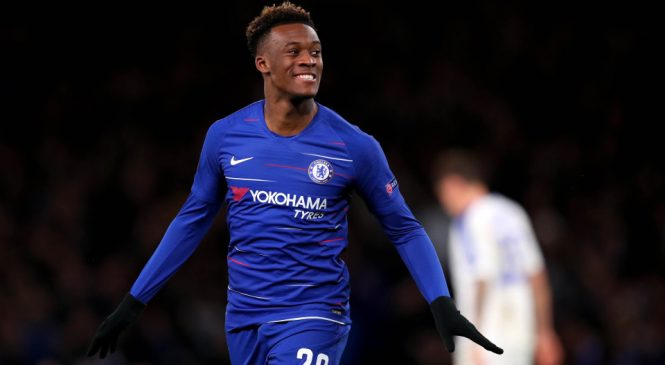 Chelsea 3-0 Dynamo Kiev: Callum Hudson-Odoi rounds off dominant display as Blues take control of Europa League last-16 tie