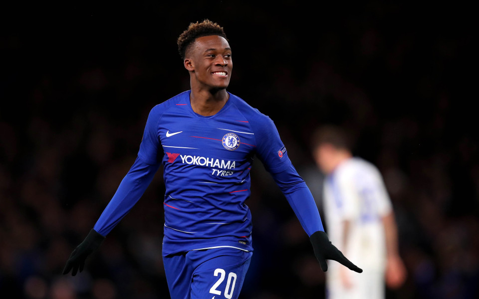 Hudson-Odoi rounded things off