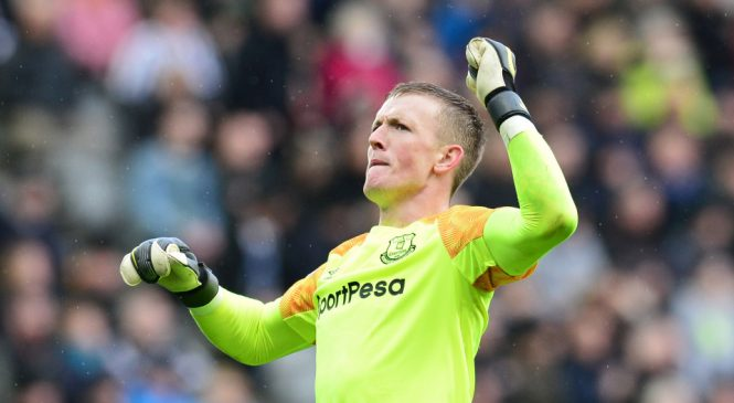 Jordan Pickford: Everton star must avoid complacency or he will follow in the footsteps of Joe Hart