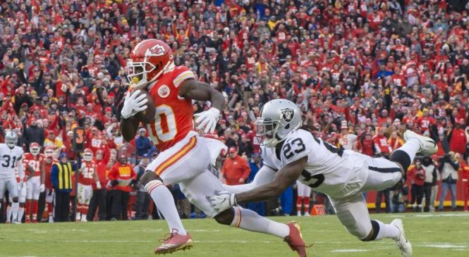 Kansas City Chiefs WR Tyreek Hill involved in investigation of alleged battery