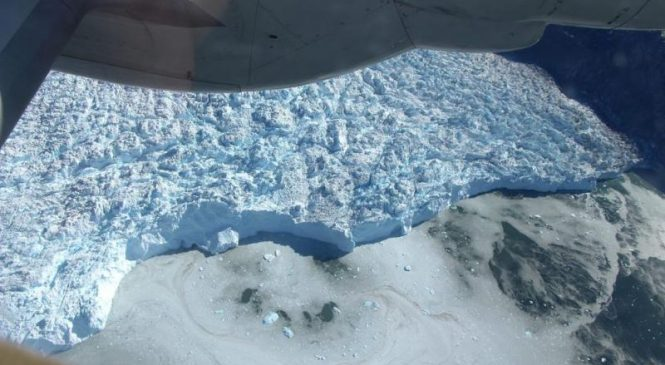 NASA studies Greenland to determine how much of it is melting