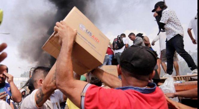 New U.S. humanitarian aid reaches Venezuela border