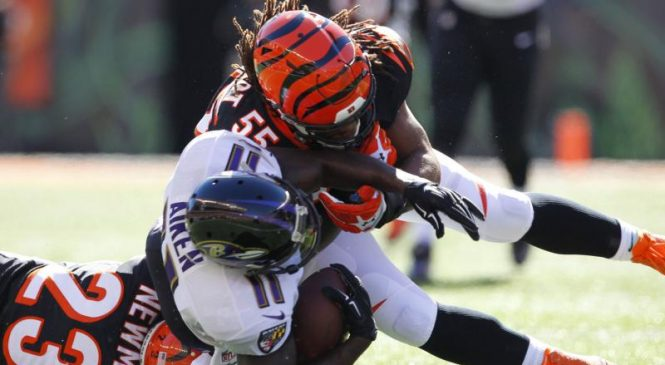 Vontaze Burfict joins former rival Antonio Brown with Oakland Raiders