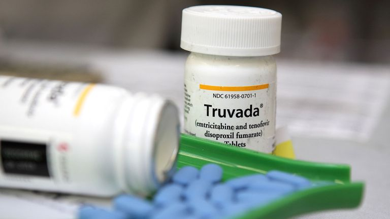 Antiretroviral drug Truvada