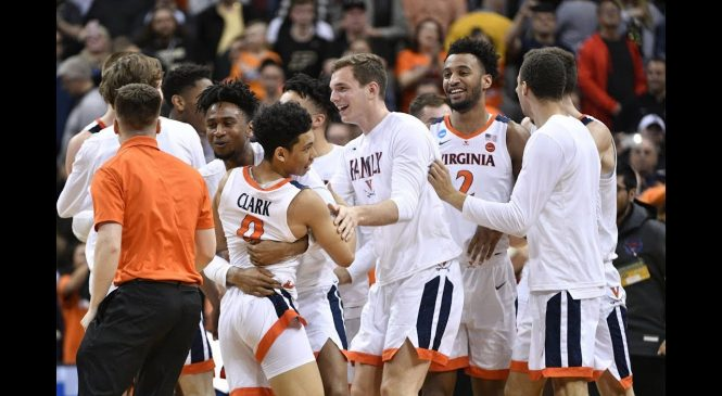 March Madness: Virginia survives 80-75 win over Purdue to advance to Final Four