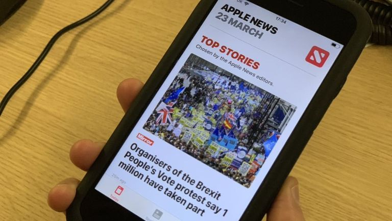 Apple News service may be updated too