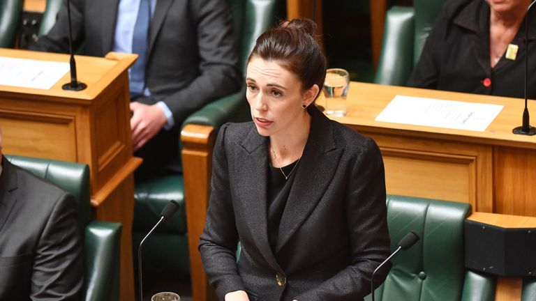 The New Zealand prime minister said she will never speak the name of the Christchurch mosque gunman