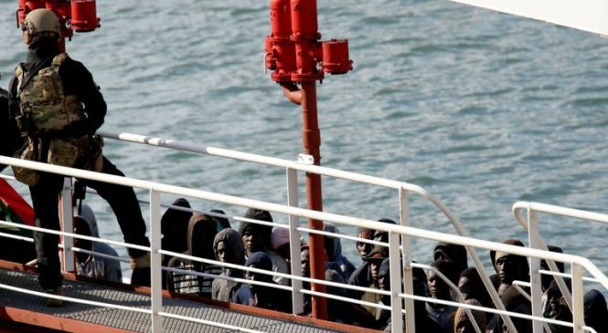 Forces seize tanker hijacked by migrants in Med
