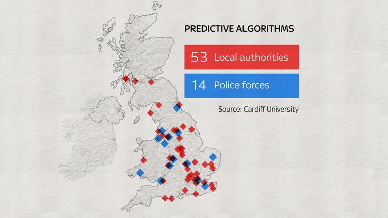 More than 50 local authorities are using predictive algorithms