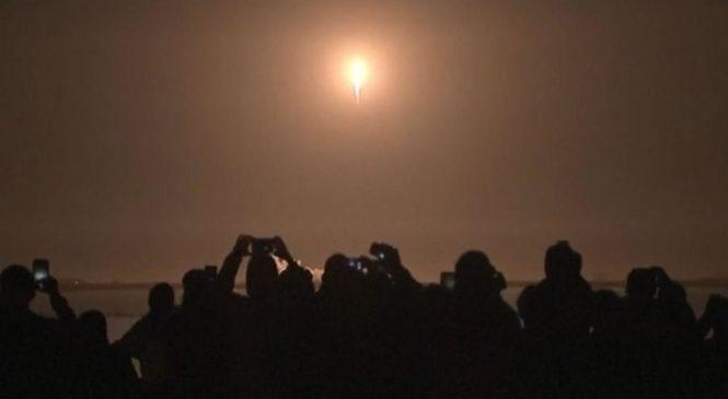 Blast off! Musk's SpaceX fires rocket into orbit