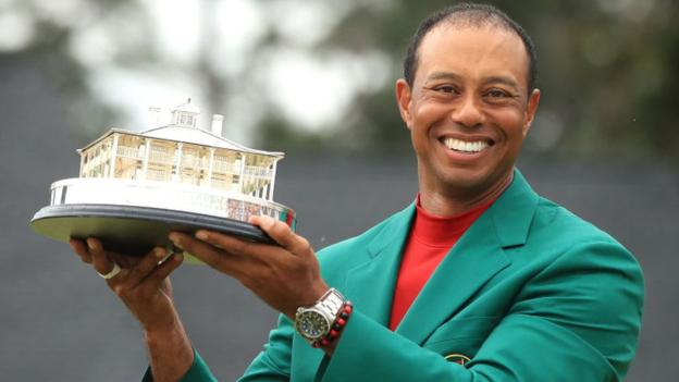 Tiger Woods: Masters win follows career doubts and changes children's perspective