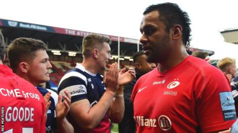 Billy Vunipola: England number eight given formal warning by RFU