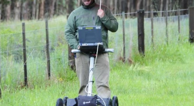 Archaeologists use subsurface imaging to map unmarked graves