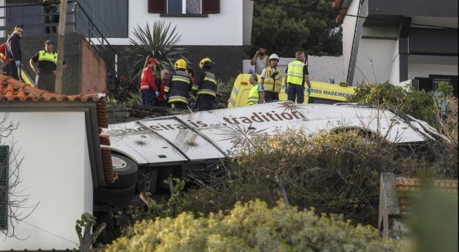 At least 28 killed in Madeira bus crash