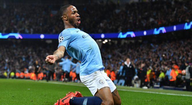 Fans react brilliantly as Manchester City post premature Raheem Sterling celebration tweet
