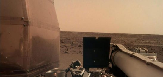 InSight lander detects Marsquake for the first time