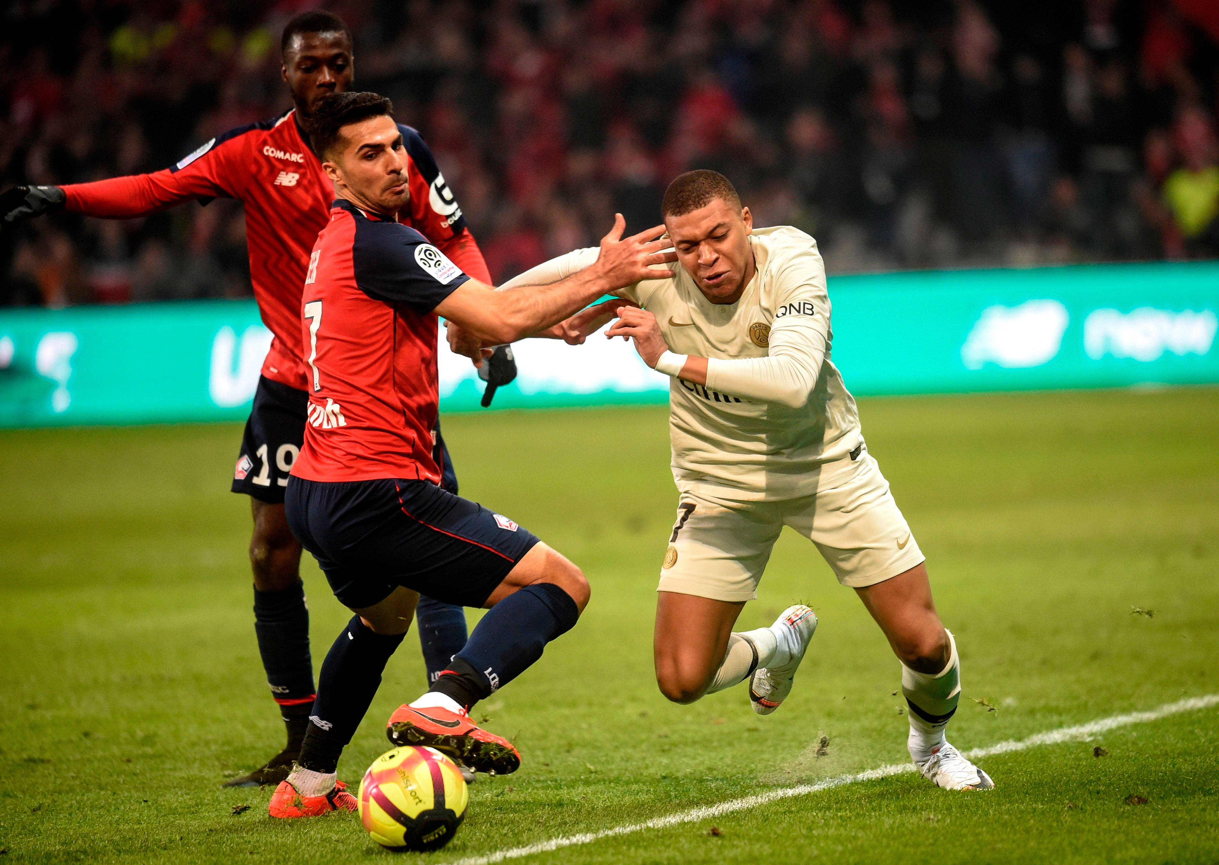 Kylian Mbappe was left frustrated