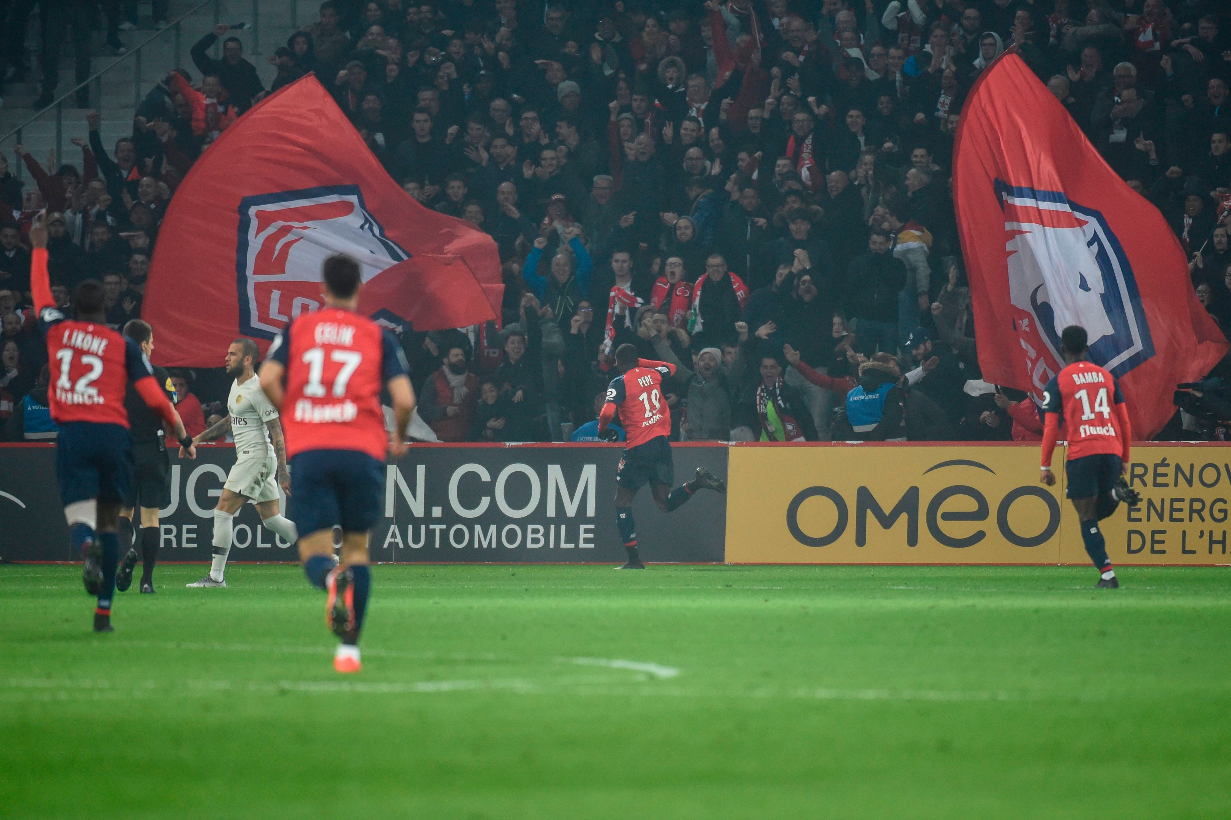 Pepe put Lille back in front