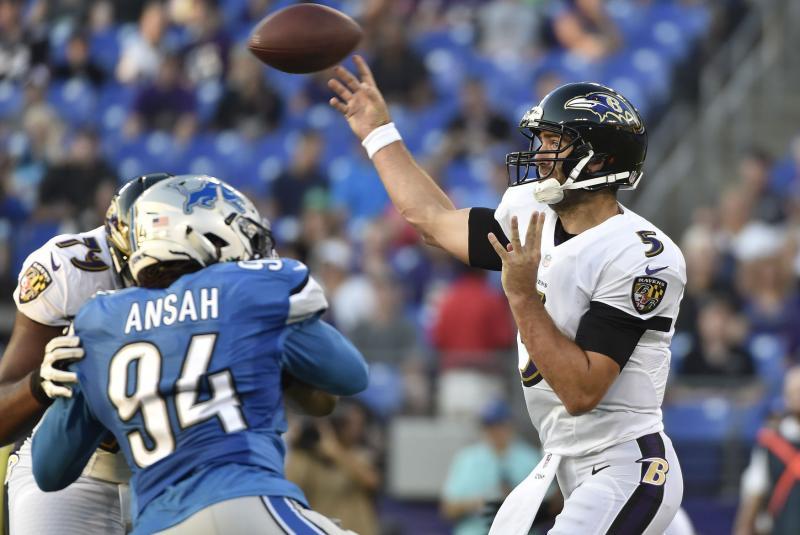 Pro Bowl pass rusher Ezekial Ansah visits Baltimore Ravens