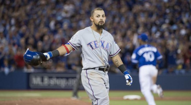 Rangers place second baseman Rougned Odor on the IL